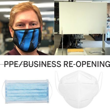 Covid/PPE/Business Re-Opening Products